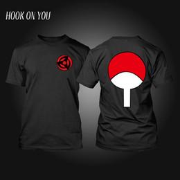 Wholesale Naruto Hokage - Naruto T-Shirt Anime T Shirt Akatsuki Kakashi Gaara Hokage Uchiha Itachi Sasuke Sharingan Men Child Gift Tshirt