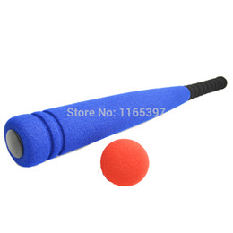 Wholesale Adult Electric Car - Free ship 2 sets soft rubber foam baseball game kids children teenage adult PE physical training team sports activity game toy