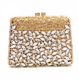 верхние концевые муфты Скидка High-End Handmade Square Shape Crystal Clutch XIYUAN Evening Bags Clutches Women Clutch Bag  Female Diamond Shoulder Bags