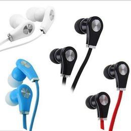 Écouteurs à la mode en Ligne-Gros filaire casque multicolore écouteurs à la mode sport écouteurs haute qualité musique casque pour Android par OPP sac WIRE01
