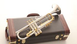 2019 tromba in argento placcato Tromba originale di alta qualità Tromba LT180S 72 argento placcato strumenti musicali Super prestazioni professionali Spedizione gratuita sconti tromba in argento placcato