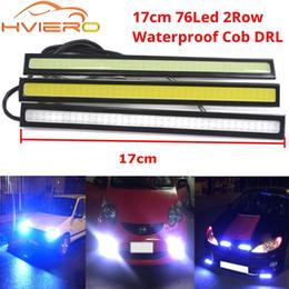 2 X 8-led Tag Fahr Lauf Licht DRL Auto Nebelscheinwerfer Wasserdicht Weiß Dc 12v