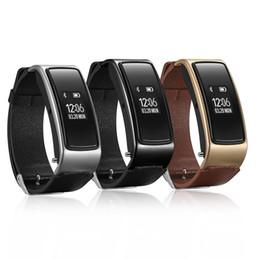 Bluetooth-гарнитура для телефонов с часами онлайн-Умный браслет спортивный телефон часы Bluetooth носить гарнитуру водонепроницаемый шаг сердечного ритма сна мониторинг мужчин и женщин