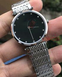 Wholesale Case Batteries - 2018 AAA Sapphire Quartz New Luxury mens Watch Stainless Steel Blakc dial Silver Case Mechanical Automatic Watches original clasp watch men