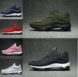 Wholesale Green Light Travel - In 2018, the new men's running shoes, the low air mattress 98 pumps, and women's sneakers are cheap. Travel sneakers.