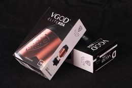 atomizzatori mech mods Sconti Authentic VGOD Elite RDA Atomizzatore 24mm Match perfetto con Vgod Pro Mech Mod Per sigarette elettroniche 500 Thread Box Mod