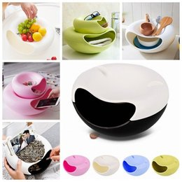 Wholesale Food Support - Plastic Storage box Creative Bowl Shape container Perfect For containing Seeds Nuts&Dry Fruits mobile phone support