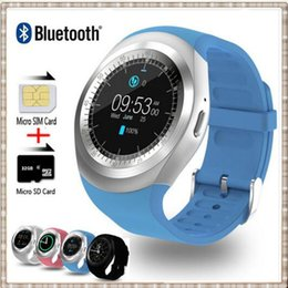 Wholesale Watch Phones Sale - Y1 Smart Watch support Nano SIM Card and TF Card With Whatsapp and Facebook & Twitter APP smartwatch on sale pk gd19 q18 dz09 g3