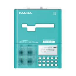 Wholesale Pink Portable Speaker - Panda F-368 Recording Portable Lithium Battery Charging Synchronous Tape U Disk TF Card mp3 player