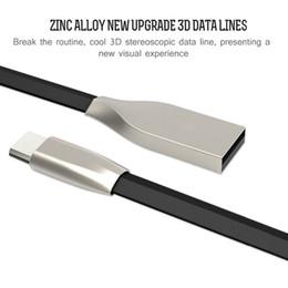 Argentina Micro USB y cable de teléfono 1M 3.3 pies en forma de rombo TPE Cable Enredado de aleación de zinc sin cable USB 2.0 Cable de datos de sincronización para Android y teléfono cheap tpe plug Suministro