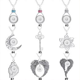 Noosa Chunks 18 MM Zencefil Snap Düğmesi kolye Bulguları Kristal anahtar çiçek kanatları Olmadan Charm Takı Yapımı Için zincir olmadan toplu nereden