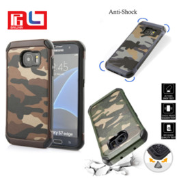 Wholesale Military Hard Case - 2in1 Outdoor Army Phone Case Hybrid Rugged Hard Soft Combo Military Style City Forest Camouflage Cover For iPhone 7 7 Plus Samsung S8