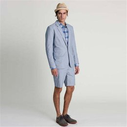 2019 светлый цвет брюки мужчины 2018 New Arrival Light Color Men's Suit Casual Short Pants Summer Suits Slim Fit 2 piece Smoking Terno Masculino (Jacket + Pants дешево светлый цвет брюки мужчины