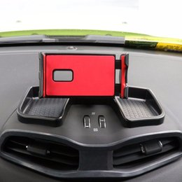 Jeep-telefone online-Car styling Auto-Schlag-Telefon 360 drehen mit Aufbewahrungsbehälter für Ipad-Halter Antibelegmatte GPS-Halter-Stand für Jacobson Jeep Renegade