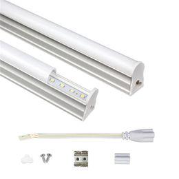 Tubo t5 6w online-Tubo LED integrado T5 1ft 2ft 3ft 4ft 175-265V LED Tubo fluorescente SMD2835 6W 10W 14W 18W luces led