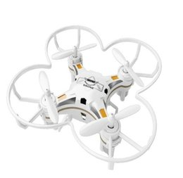 Wholesale Gyro Gopro - New FQ777-124 MINI DRONE 4CH 6AXIS GYRO RC QUADCOPTER Switchable Controller RTF UAV RC Helicopter Toys Mini Drones Gift Present