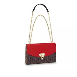 Wholesale ladies real leather purses - shoulder bags women real leather chain crossbody bag handbags famous designer purse real leather 28cm female bag