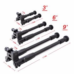 """Support de fixation tactique pour monture de fusil Bipod 3 """"6"""" 9 """"ajustable en métal ? partir de fabricateur"""