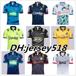 2018 Chiefs Super Rugby Jersey new Zealand super Chiefs Blues Hurricanes Crusaders Highlanders shirts SIZE: S-3XL
