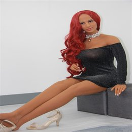 Wholesale christmas sex doll - 2018 new arrival smart voice and heating system 165 cm adult sex dolls full silicone sex dolls for men