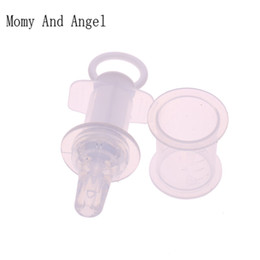 Wholesale Medicine Baby - Safety Baby Squeeze Medicine Dropper Dispenser Baby Pacifier Needle Feeder Feeding Flatware Utensils Infant Nipple Syringe