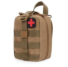 Açık tıbbi kiti ilk yardım kiti naylon su geçirmez aksesuar çantası depolama cep taktik paketi ücretsiz kargo nereden
