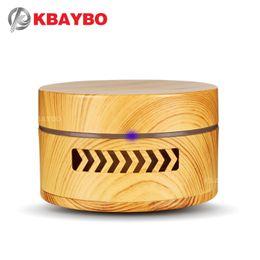 Canada KBAYBO Mini Aroma Diffuseur De Grain En Bois Fragrance Purificateur D'air Huile Essentielle Diffuseur Batterie Remplaçable Purificateur D'air en Voiture Home cheap air purifier fragrances Offre