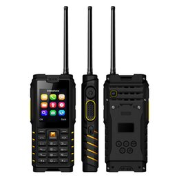 ip68 mobile phone Promo Codes - ioutdoor T2 UHF Antenna Walkie Talkie Rugged Phone IP68 Waterproof GSM Mobile Phone 4500mAh Battery Keypad Unlocked Cell Phone