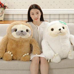sloth toys Coupons - New 50cm Kawaii Sloth Baby Lifelike Sloth Plush Toy Stuffed Dolls Kids Toys Lovely Doll Girlfriend Best Birthday Christmas Gifts