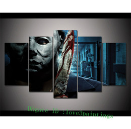 Wholesale Painting Home Images - USH HHN Halloween Image Logo -1,5 Pieces Home Decor HD Printed Modern Art Painting on Canvas (Unframed Framed)