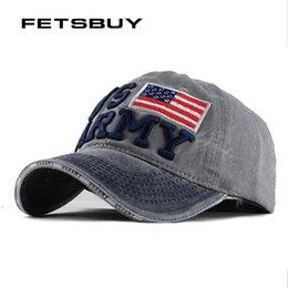 f6cddd8eb1c FETSBUY Washed Denim Baseball cap Snapback Hats Autumn Summer Hat for Men  Women Caps Casquette hats Letter Embroidery GorrasF128