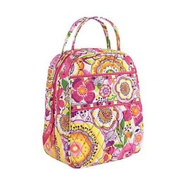 Wholesale Green Picnic - LET'S DO LUNCH BUNCH BAG Portable Waterproof Handbag Keep Food Fresh Lunch Picnic Carry Tote Storage Bag