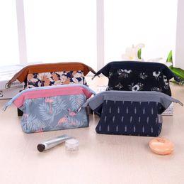 d371b0b65682 New Arrival Flamingo Cosmetic Bag Women Necessaire Make Up Bag Travel  Waterproof Portable Makeup Bag Toiletry Kits Pencil Pen Organizer