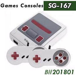 16 bit md online-16 Bit Retro Mini Consola de Videojuegos Familia Consolas Portátiles Soporte TV AV Salida Vedio MD Juegos Con Caja Al Por Menor 20 unids