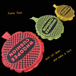 Wholesale Whoopee Cushions - Wholesale-Stock Funny Prank Whoopee Cushion Jokes Gag Fart Pad Fashion Trick Novelty Toy For adult Children