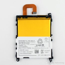 Wholesale Xperia Z1 Battery - 100% Good Quality Replacement Internal Battery LIS1525ERPC For Sony L39h Xperia Z1 Honami SO-01F C6902 C6903 C6906 Phone Battery 3000mAh
