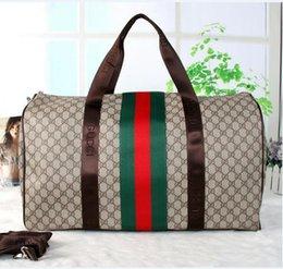 Wholesale Mens Leather Man Bags - Keepall Travel Luggage Bag Damier Graphite PU Leather Handbag Men Travel Bags Mens Travel Totes Bag Mens Duffle Bag 55CM