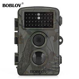 Wholesale Lead Farm - Hunting Camera BOBLOV IR LED Wildlife Scouting Camera HD 12MP 1080P Night Vision Game Camera for Hunting Farm Free Bag