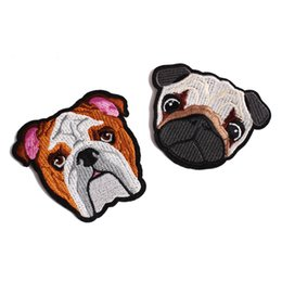 Wholesale Accessories For Dogs Wholesale - The latest Cartoon Dog Patches for clothing iron embroidered patch applique iron on patches sewing accessories badge stick customizable