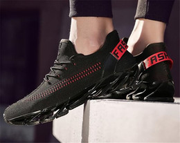 2830b1f39cd8 men blade shoes Promo Codes - 2018 New Men Full Red Outdoor Sport Trainers  2018 New