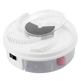 Wholesale control mosquitoes - Electric USB Automatic Flycatcher fly trap pest reject control catcher mosquito flying fly killer insect Traps