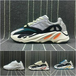 Wholesale Cheap Women Fashion - 2018 Boost 700 Top Quality Cheap Running Shoes With Wave Runner 700 Boosts Sports Shoes Fashion Athletics Discount Sneaker size 36-46