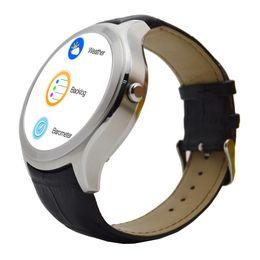 relógio gps de qualidade Desconto Relógios Inteligentes D5 Android 4.4 de Alta Qualidade 4 GB GPS Wi-fi Monitor de Freqüência Cardíaca Relógio Relogios