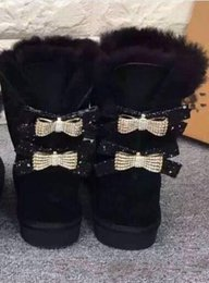 Promotion Bottes Bow Strass | Vente Bottes Bow Strass 2020
