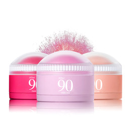 Creme wange online-3 Farben Gesicht Rouge Ball Soft Moisturizing Cream Blush Make-up Soft Silky Bronzer Süße Glow Cheeks einen natürlichen Look