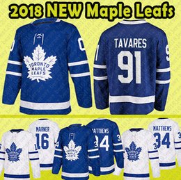 Mens Youth Women Toronto Maple Leafs 91 John Tavares Hockey Jerseys 16 Mitch Marner 34 Auston Matthews jersey blue white jersey ADULT