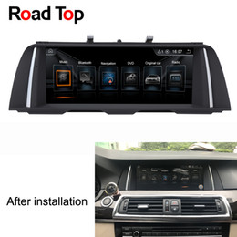 """Wholesale navigation for bmw - 10.25"""" Android Car Radio Bluetooth GPS Navigation Screen Monitor for BMW F10 F11 520i 523i 528i 530i 535i 550i M5 518d 520d 525d 530d 535d"""