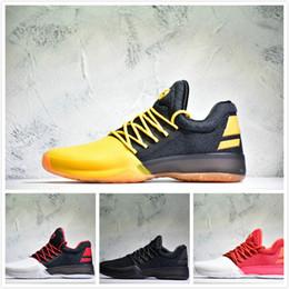 brand new 62299 8606f 2017 Hot Harden Vol. 1 BHM Schwarz Geschichte Monat Herren Basketball Schuhe  Mode James Harden Schuhe Outdoor Sports Training Turnschuhe Größe 40-47