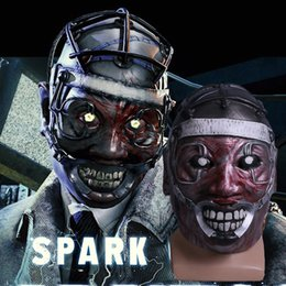 Wholesale Doctor Mask - Game Dead by Daylight Mask Cosplay Spark Of Madness Mask The Doctor Scary Mask Halloween Props