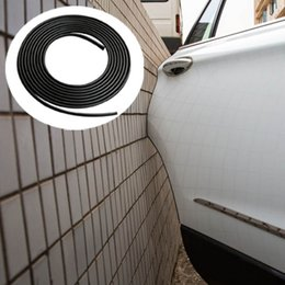2019 дверь mitsubishi Защитные накладки дверей автомобиля Наклейка Внутренняя внешняя отделка Полосы Облицовка Литье защитная накладка края двери Царапины Аксессуары для стайлинга автомобилей дешево дверь mitsubishi